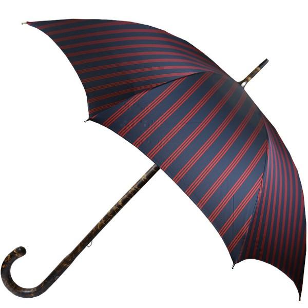 Shibumi Sen Umbrella - Navy Striped - Hickory