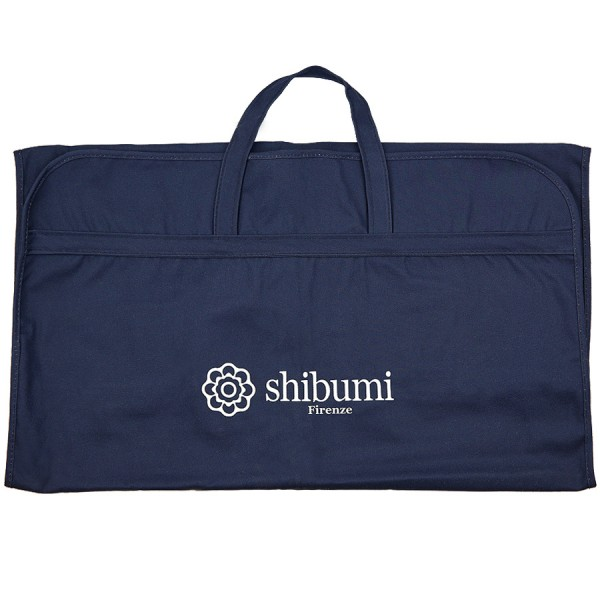 Shibumi Suit Bag - Navy - Pure Cotton