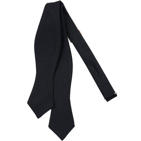 Barathea Bow Tie - Black - Silk