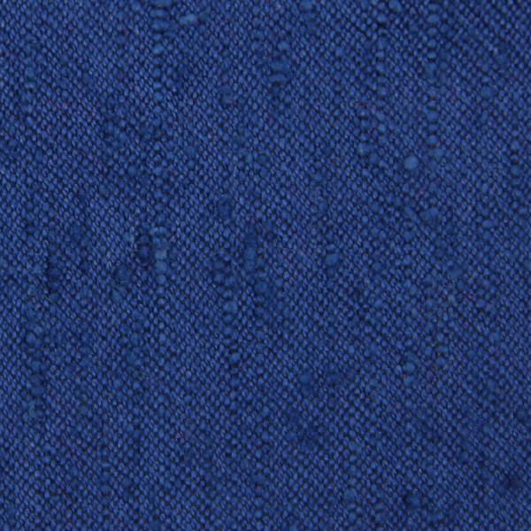 Plain Shantung Silk Bespoke Tie - Blue