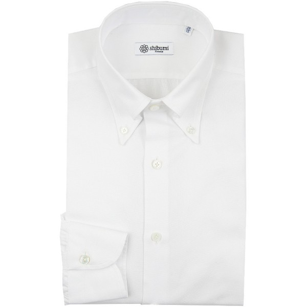 Oxford Button Down Shirt - White - Regular Fit