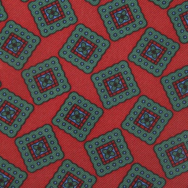 Ancient Madder Silk Bespoke Tie - Cherry