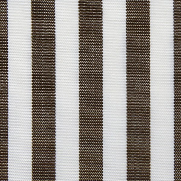 Poplin Made-To-Order Shirt - White / Brown - Bengal Stripe