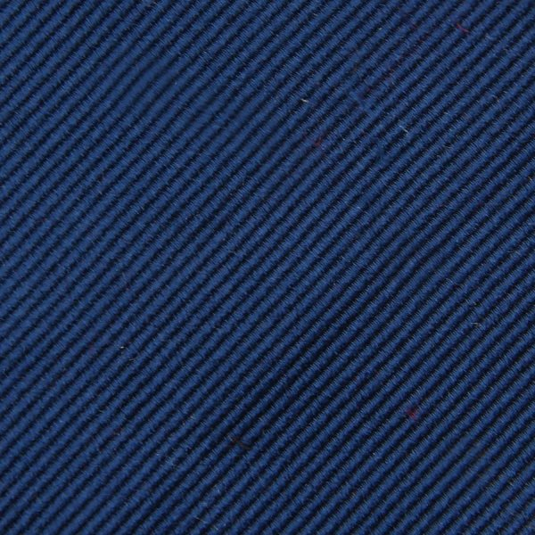 Plain Repp Bespoke Silk Tie - Light Navy