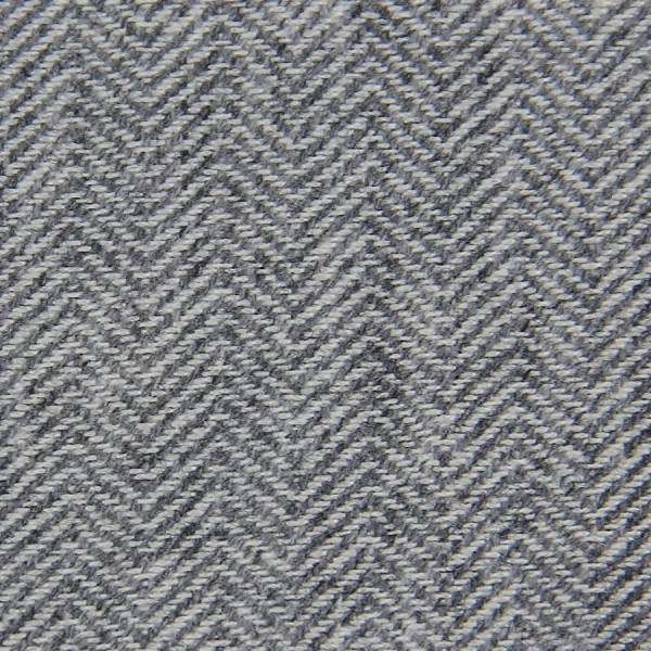 Herringbone Cashmere Bespoke Tie - Light Grey