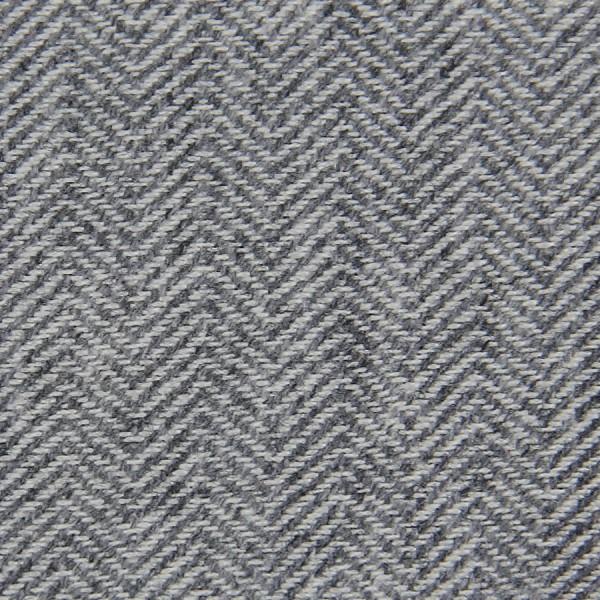 Herringbone Cashmere Bespoke Tie - Light Grey