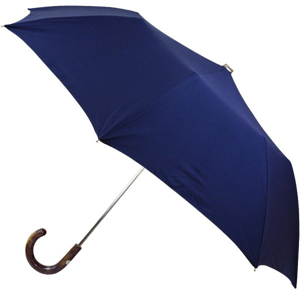 Shibumi Sen Travel Umbrella - Blue - Hickory
