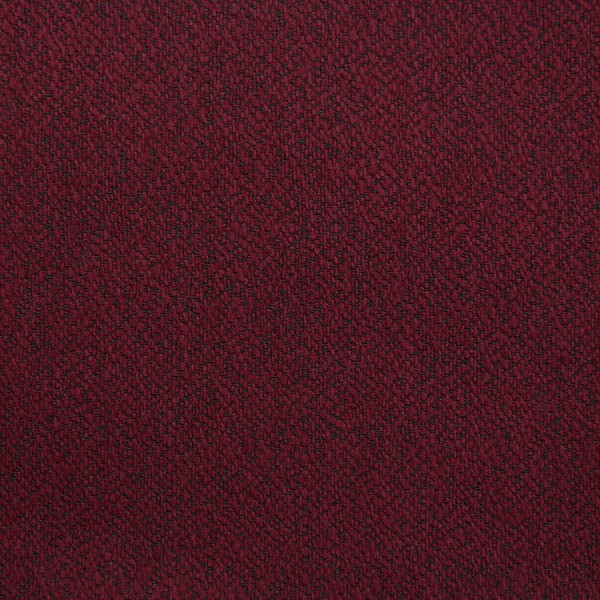 Plain Boucle Wool / Silk Bespoke Tie - Burgundy