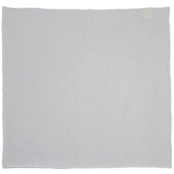 Vintage Kimono Silk Pocket Square - White II