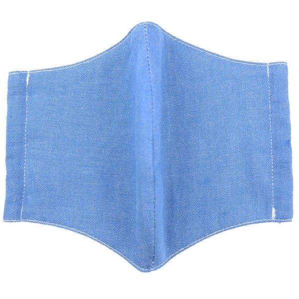 Denim Washable Cotton Mask - Blue
