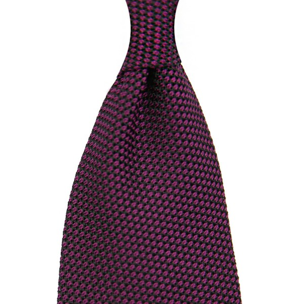 Grenadine / Garza Piccola Tie - Purple - Handrolled