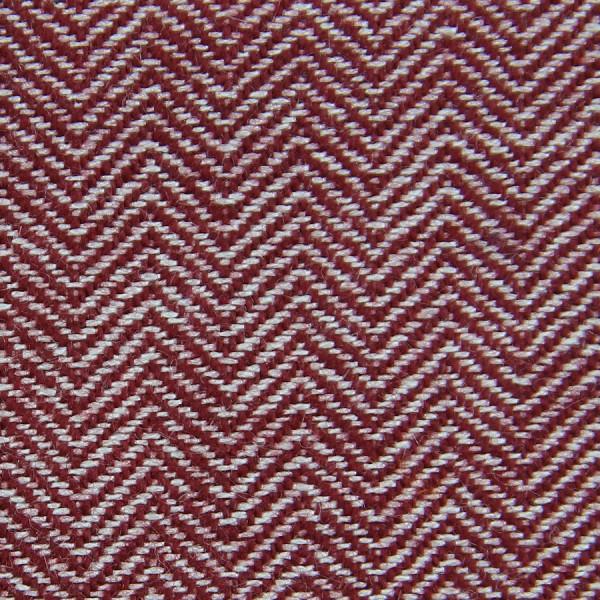 Herringbone Cashmere Bespoke Tie - Burgundy I