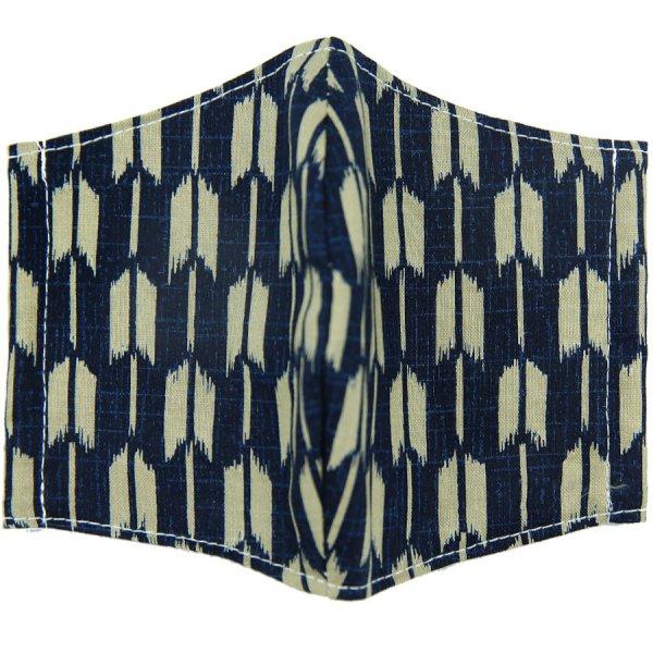 Kimono Motif Washable Cotton Mask - IX