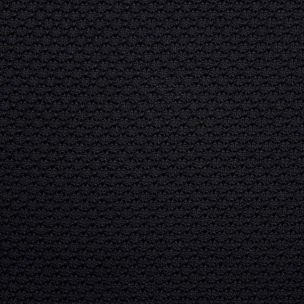 Grenadine / Garza Grossa Bespoke Silk Tie - Black