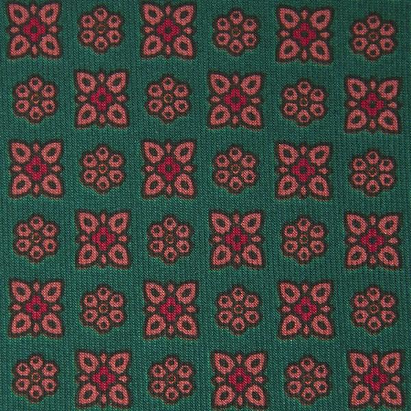 Ancient Madder Silk Bespoke Tie - Green