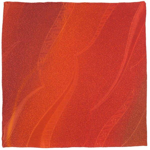 Vintage Kimono Silk Pocket Square - Mars