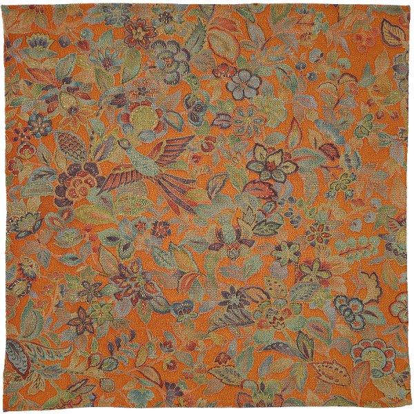 Kimono Silk Pocket Square - Autumn - Handrolled