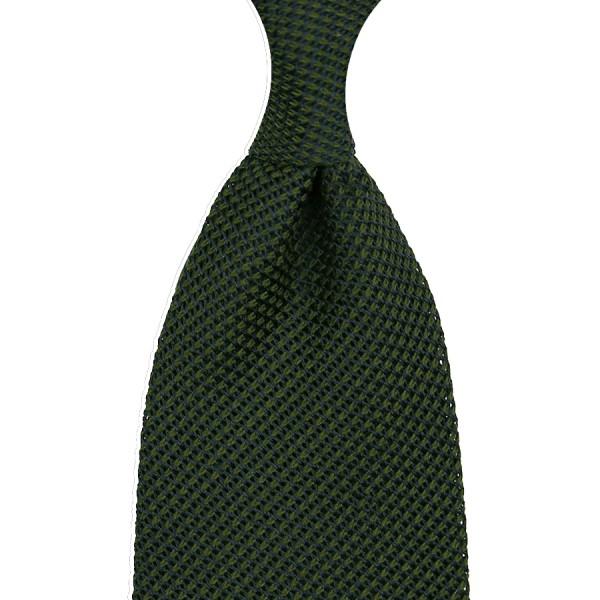 Grenadine / Garza Piccola Tie - Forest Green - Silk / Wool / Cashmere