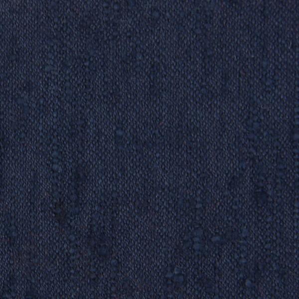 Plain Shantung Silk Bespoke Tie - Navy