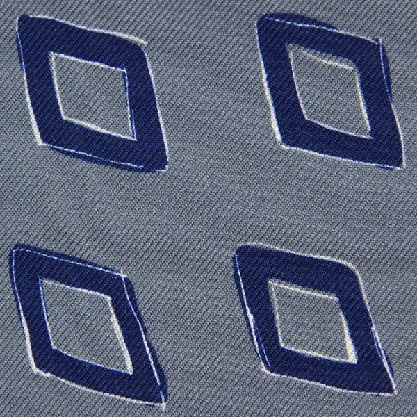 Vintage Printed Silk Bespoke Tie - Grey