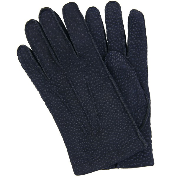 Shibumi Sen Capybara Gloves With Cashmere Lining - Navy
