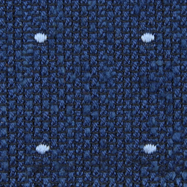 Dotted Shantung Grenadine Bespoke Tie - Blue / Sky