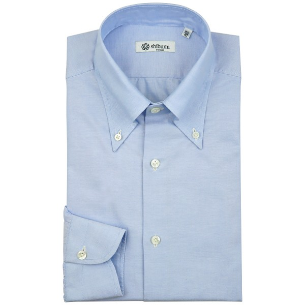 Oxford Button Down Shirt - Sky Blue