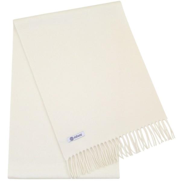 Cashmere Scarf - Cream - Plain