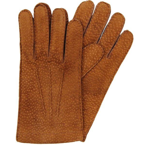 Shibumi Sen Capybara Gloves With Cashmere Lining - Honey