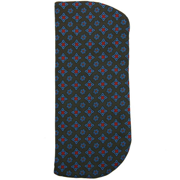 Ancient Madder Silk Tie - Army