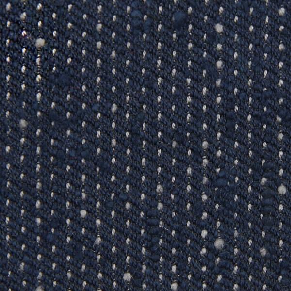 Speckled Shantung Bespoke Tie - Navy