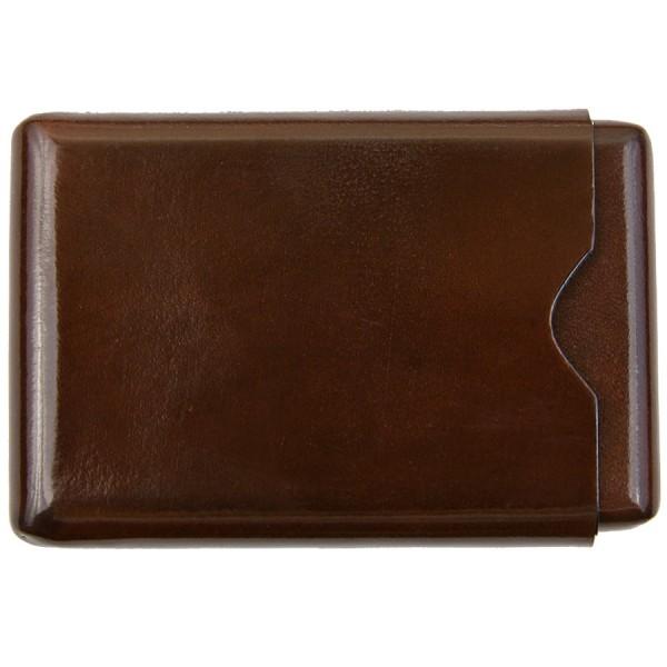 Scuola del Cuoio x Shibumi Card Case - Hazelnut - Calfskin