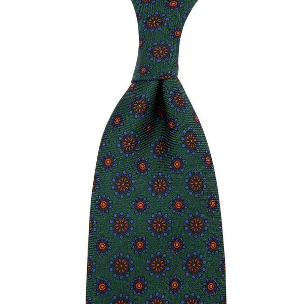 Ancient Madder Silk Tie - Bottle I - Hand-Rolled