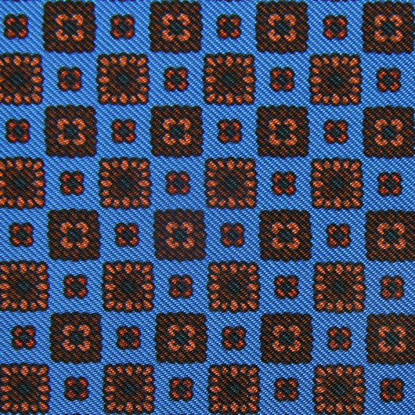 Ancient Madder Silk Bespoke Tie - Madder Blue