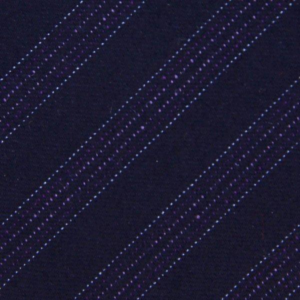 Striped Wool Bespoke Tie - Lilac