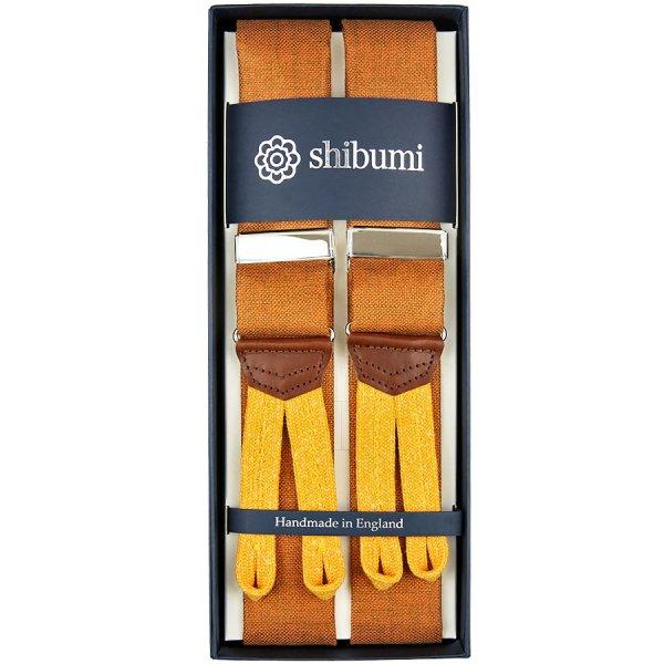 Hardy Minnis Bamboo Braces - Cinnamon