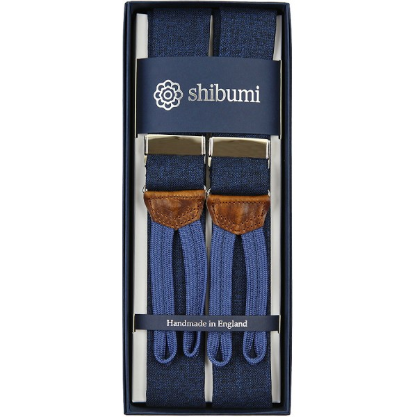 Hardy Minnis Bamboo Braces - Denim