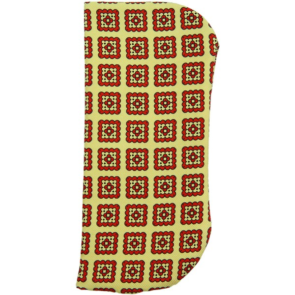 Ancient Madder Silk Glasses Case - Yellow