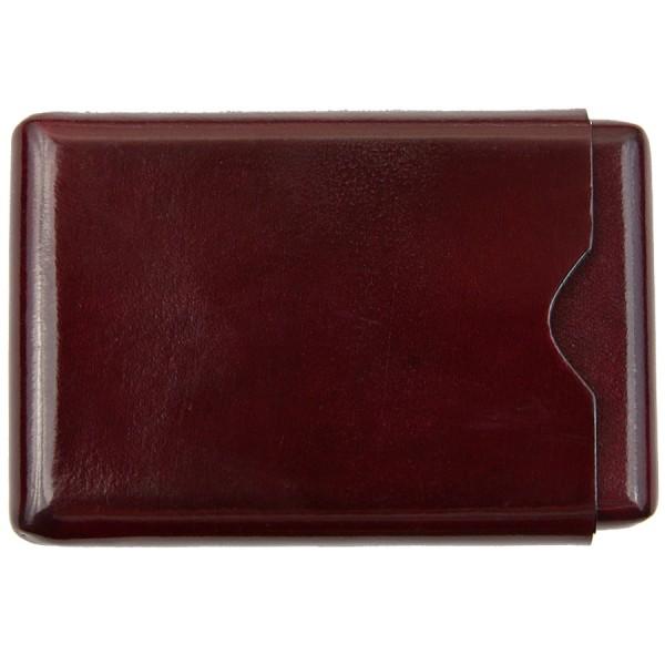Scuola del Cuoio x Shibumi Card Case - Burgundy - Calfskin