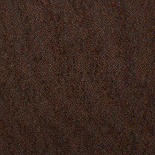 Plain Boucle Wool / Silk Bespoke Tie - Chocolate