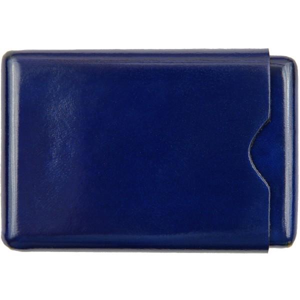 Scuola del Cuoio x Shibumi Card Case - Navy - Calfskin