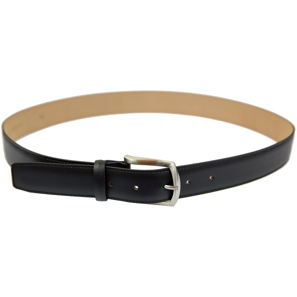 Scuola del Cuoio x Shibumi Boxcalf Leather Belt - Black