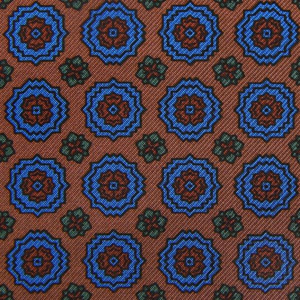 Ancient Madder Silk Bespoke Tie - Oatmeal