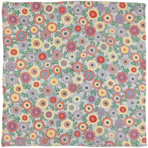 Vintage Kimono Silk Pocket Square - Multicolored II