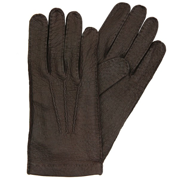 Shibumi Sen Peccary Gloves Unlined - Espresso