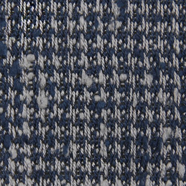 Houndstooth Shantung Grenadine Bespoke Tie - Navy / Grey