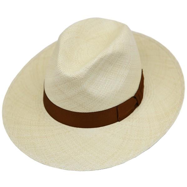 Panama Hat - Sand - Brown Ribbon