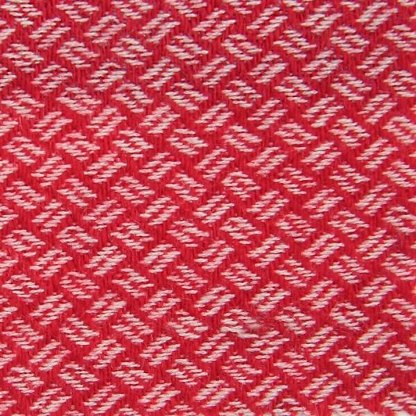 Geometrical Cashmere Bespoke Tie - Cherry