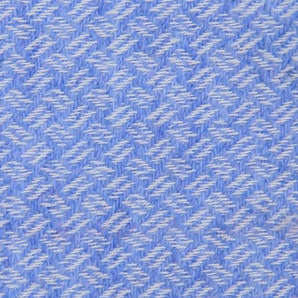 Geometrical Cashmere Bespoke Tie - Sky Blue